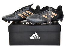 adidas Copa 17.1 FG Kangaroo Leather Black Copper Soccer Cleats BA8517 Size 9