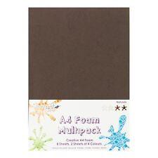 Dovecraft a4 Art + Craft Color Schiuma 8 FOGLI Shade Confezione Multipla-Naturals
