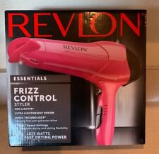 Revlon Lightweight Light Hair Dryer Pink Concentrator Heat Stylist Professional
