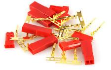 5 x BEC Goldkontakt -Stecker und -Buchse (5x Stecker, 5x Buchse)