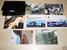 2003 BMW X5 Owners Manual - Set!!! (w/Radio Manual)
