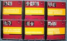 SWR2 Aula - 12 x CDs Audio Top - Hörsaal Aula Philosophie Ethik Phänomenologie