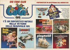 X9582 Vetrina delle meraviglie GIG - Pubblicità 1988 - Advertising