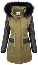 Ladies Winter Jacket Parka Winter Coat Art fur Collar Women's Jacket Coat D-348