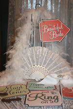 LOT of 15 Pretty Photo Booth Props Rhinestone Wedding Party Bride Event