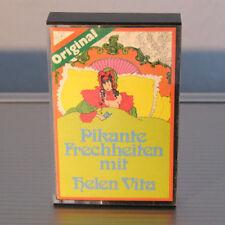 PIKANTE FRECHHEITEN MIT HELEN VITA - Sexy * Nude * Cassette MC - extrem RAR