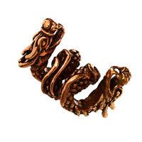 Bartperle Haarschmuck TIAMAT Drache Bronze Lockenperle 6460