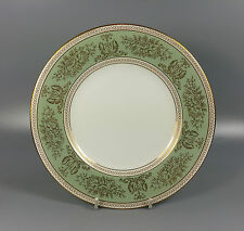 "Wedgwood Gold Columbia Sage Green Gold Trim 8 1/8"" Salad / Lunch Plate 20.5 cm"