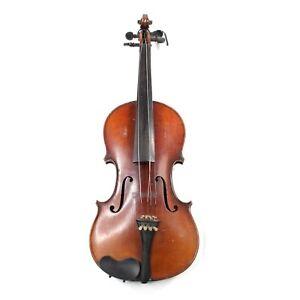 E. Martin Violin Copy of Stradivarius Vintage Violin with Bow Sachsen Germany