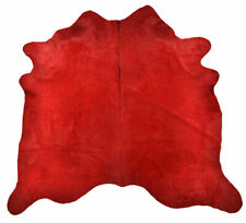 Exclusive Cowhide Bullhide Red 86 5/8x86 5/8in