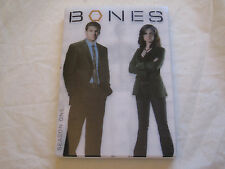Bones - Season 1 (DVD, 2009, 4-Disc Set, Dual Side) FREE SHIPPING w/ Slipcover
