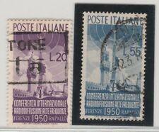 FRANCOBOLLI - 1950 REPUBBLICA RADIODIFFUSIONE C/630
