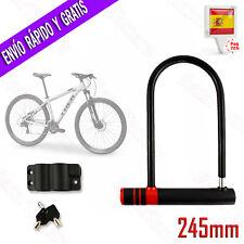 NEAN Candado con eslabones Cadena de acero para bicicleta y motocicleta 6/mm x 900/mm