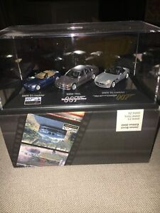 James Bond 007 Minichamps BMW Dealership 1:87 Scale set BMW Z3, Z8, 750iL MINT