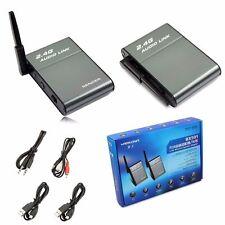 2.4G Wireless Music Audio Transmitter Sender Receiver For TV/PC/Speaker/Earphone