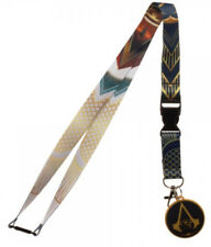 Assassin's Creed Origins Break-Away Lanyard Keychain w/ ID Holder and Charm