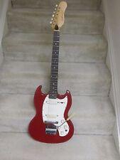 Vintage Kalamazoo KG-2 electric guitar-circa 1968,red finish,original case,nice