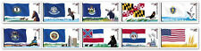 US 4302b Flags of our Nation 44c PNC10 strip set #3 MNH 2009
