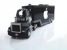 Disney Pixar Cars NO.84 Black Apple Mack iCar Racer's Hauler Truck Trailer Toy