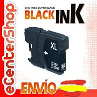 Cartucho Tinta Negra / Negro LC980 NON-OEM Brother DCP-197C / DCP197C