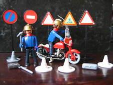 MOTO COMMAND BOYS POMPIER FIREMAN BOMBEROS STYLE PLAYMOBIL