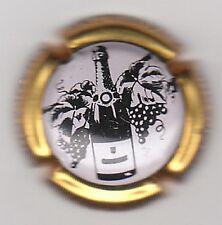 capsule de champagne générique 712g, contour or fond blanc