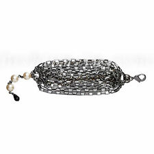Mimco Bracelet My Beloved Chain Wrist Black Jet Mix BNWT RRP $169.00