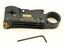 Coaxial Coax Cable Cutter Stripper Tool 3-blades  For RG58 RG59 RG62 RG3C RG4C