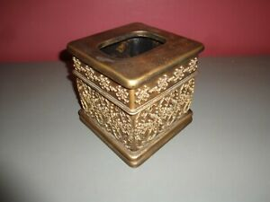 Iron Gate Design New Bronze Ceramic Tissue Box Cover Bed Bath & Beyond