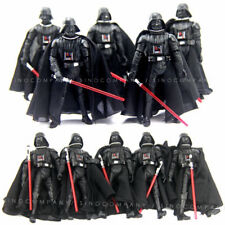 Lot 10 Star Wars Revenge Of The Sith ROTS 2005 Darth Vader Figure & Lightsabers