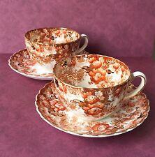 SET 2 Antique VICTORIAN Radfords Fenton England Cup and Saucer, bone china