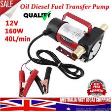 12V Electric Fuel Oil Diesel Transfer Pump 40L/Min Self Priming hg