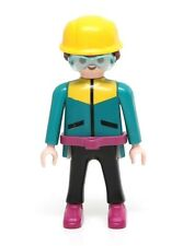 Playmobil Figure Outdoors Mountaineer Mountain Climber w/ Goggles Hat 3842