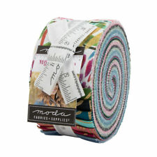 Moda Moody Bloom Jelly Roll - Patchwork Quilting 2.5 Inch Strips