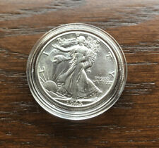 1945-D SILVER WALKING LIBERTY HALF DOLLAR IN  CHOICE BU CONDITION!!