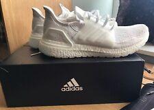 adidas Ultraboost 19 Size 12 UK – Triple White Ultra Boost Trainers