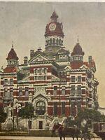 Vintage Postcard, 1908 City Hall Winnipeg Canada P83