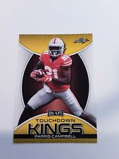 2019 Leaf Draft Football Gold Parallel #85 Parris Campbell Touchdown Kings