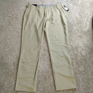 Under Armour Men's Size 42X36 UA Match Play Flat Front Golf Pants 1342263 233