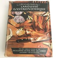 Larousse Gastronomique Encyclopedia of Food Wine Cookery 1st edition 1961 Hard