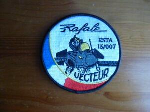 Rafale Fighter Squadron Patch FS French Unit Vecteur Red Flag Nellis AFB