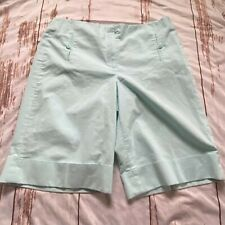 Lifestyle Attitude by Larry Levine striped shorts-size 12-guc