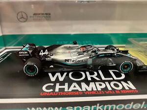Spark F1 Mercedes-AMG F1 W10 EQ Power+ n°44 WC L.Hamilton 2019 1/43 S6099 0420