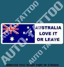 Australia Love It or Leave Decal Sticker Patriotic Australiana Decals Stickers