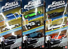HOT WHEELS FAST & FURIOUS  9 CARS 3 SET 1/55 FORD DODGE JEEP FCG01-956A