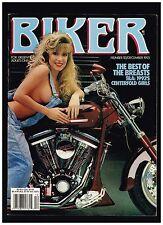 BIKER DECEMBER 1993 SEE CONTENTS CUSTOM STREET CHOPPERS BOBBERS BIKER LIFESTYLE