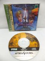""" SHINING FORCE III SCENARIO 3 "" SEGA SATURN SS JAPAN JAPANESE GAME"