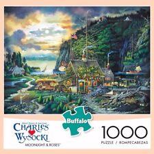 Buffalo Games - Charles Wysocki - Moonlight & Roses - 1000 Piece Jigsaw Puzzle