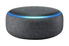 All-New Amazon Echo Dot 3rd Generation With Alexa Smart Speaker - Black/Charcoal