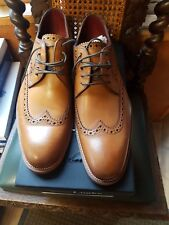 Loake rankin tan f fit size 10   Rrp £195 selling for £115 pair
